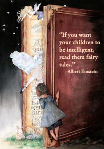Fairy-Tales Einstein quote