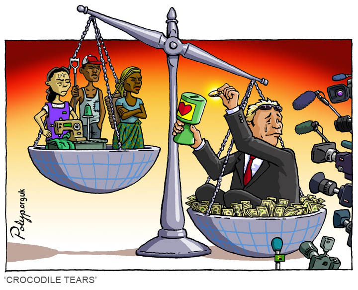 polyp_cartoon_charity_aid_trade_exploitation_sweatshop_cash_crops_wealth_poverty_media