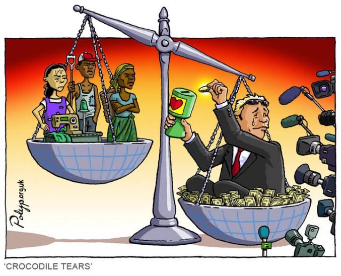 polyp_cartoon_charity_aid_trade_exploitation_sweatshop_cash_crops_wealth_poverty_media