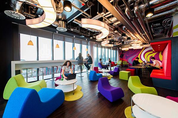 Radni prostor kompanije Google u Dablinu